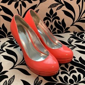 Sexy Coral  diva lounge heels